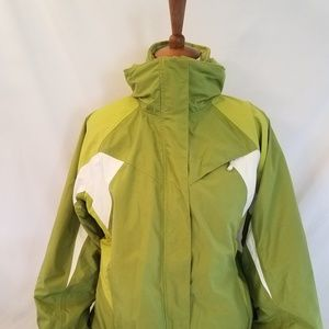 Lands End Jacket Large 14-16 Womens Squall 2 in 1